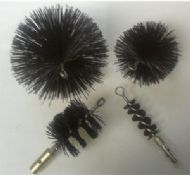 Spiral Nylon Brushes for Steelkane Rods (See Product Options For Various Sizes)